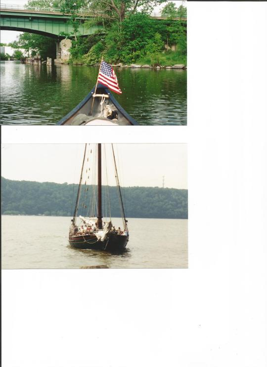 The canoe and the sloop